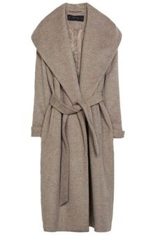 Fabulous grey bathrobe coat.
