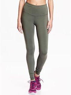 Womens Old Navy Active High-Rise Compression Pants