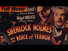 Sherlock Holmes And The Voice Of Terror (1942) Full Movie | Basil Rathbone, Nigel Bruce - YouTube