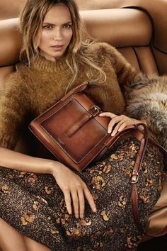 Natasha Poly joins Karmen Pedaru for Michael's Kors Fall-Winter 2015 ad campaign [Fashion]