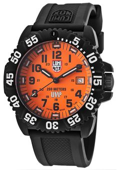 Image for Men's Special Edition Scott Cassell Black Polyurethane Orange Dial Set from World of Watches