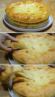 Focaccia Bread Recipe Bread Recipes Romanian Food Gratin Bread Baking My Favorite Food Macaroni And Cheese Food Porn Biscuits Georgian Food, Baked Cheese, Cheese Toast, Cheese Food, Good Food, Yummy Food, Romanian Food, Cooking Recipes, Healthy Recipes