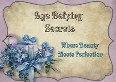 The look of your skin reflects how well you take care of it - that's why Age Defying Secret offers only the best products to revive your natural beauty and keep your skin forever young. Forever Young, Your Skin, The Secret, Anti Aging, Natural Beauty, Age, Products, Beauty Products