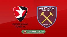 live football streaming free online espn | EFL Cup | Cheltenham Town VS West Ham United |  live stream | 23-08-2017