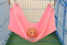 #Hamster Hammock Hanging Bed, hamster diy, hamster cage, hamster toys,