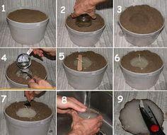 CASA COISAS & TAL: Como fazer: velas na areia