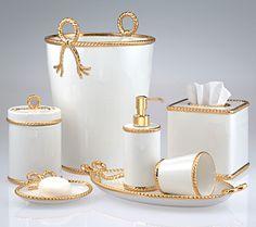 1000 Images About Gorgeous Gold Bath Accessories On Pinterest Bath Accesso