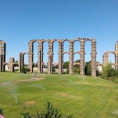 Mérida en Badajoz, Extremadura