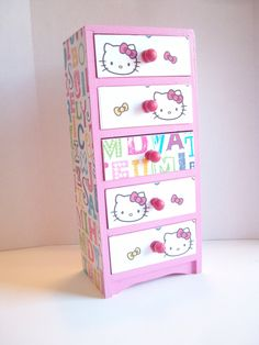 Hello Kitty Jewelry Box by StrictlyCute on Etsy, $32.00