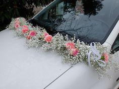 Le Jardin de Cécile Easy Crafts For Teens, Bridal Car, Wedding Car Decorations, Wedding Wows, Arte Floral, Floral Arrangements, Wedding Bouquets, Wedding Events, Marie