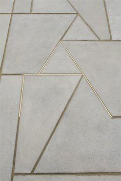 Concrete & Gold by Martin Boyce Foto: Roman Mensing