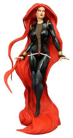 Estatua Medusa 23 cm. Línea Marvel Gallery. Diamond Select  Espectacular pieza en forma de estatua de Medusa de 23 cm fabricada en PVC, de la línea Marvel Gallery 100% oficial y licenciada. Ideal como un fantástico detalle para cualquier fan.