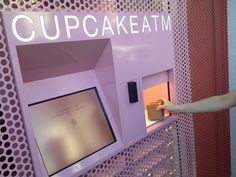 The Cupcake ATM in Beverly Hills, only at Sprinkles #LosAngeles #travelguide