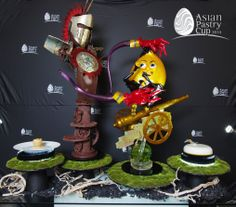 ASIAN PASTRY CUP 2014 : Official Buffet - Singapore