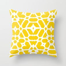 Items similar to Yellow throw pillow cover One cushion cover mustard yellow throw pillow covers on Etsy Yellow Throw Pillows, Accent Pillows, Cushion Covers, Throw Pillow Covers, Yellow Home Accessories, Yellow Print, Pink Yellow, Felt Applique, Decorative Cushions