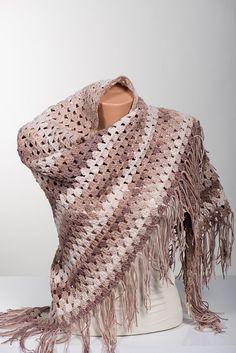 Cotton Crochet Shawl. Summer shawl. Summer by scarfstore2012
