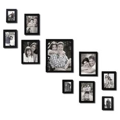 Adeco 10-piece Photo Frame Set   Overstock.com Shopping - Great Deals on Photo Frames & Albums