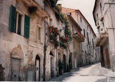 Corropoli Streetscape, TE Italy