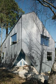 Plywood facade!  Drewniane elewacje  Pinterest  Facades, Plywood ...