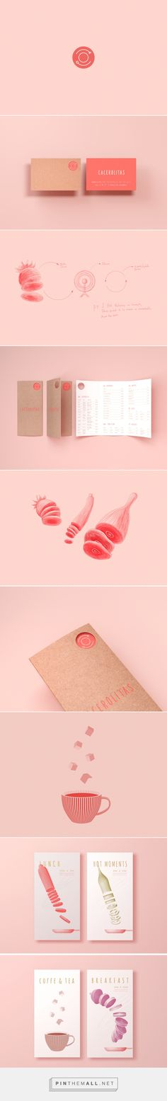 Cacerolitas Restaurant Identity by Robinsson Cravents - created via http://pinthemall.net