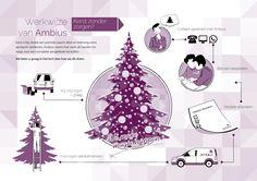 De kerstservice van Ambius #infographic #simpel