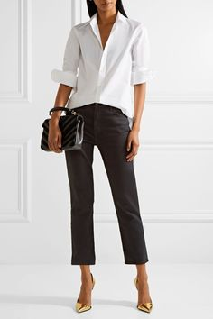 Saint Laurent | Cotton-poplin shirt | NET-A-PORTER.COM