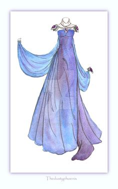 PLEASE NOTE: I do not allow any use of my designs. for Lilith, a gown I'm featuring in a chapter and wanted to get a better mental image of. plus a velvelt shrug and silver beading :]