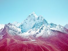 London-based photographer Nick Meed uses color manipulation to give his photos a minimalistic feel.