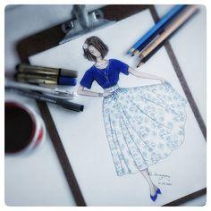 ☆ Luciana Denadary ☆ ludenadary.ilustra   WEBSTA - Instagram Analytics