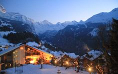 Hotel Regina at Wengen Skiing the Switzerland in the Jungfrau www.luxuryskitrips.com