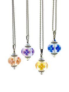 Omnipot Furnace -- Mary III シリーズ(2) Lampwork Beads, Mary, Pendant Necklace, Diamond, Jewelry, Jewlery, Jewerly, Schmuck, Diamonds