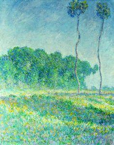 Claude Monet - Paysage de printemps