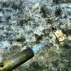 Working on a new 18kt mini tag for the 2013 collection by FKS Jewels