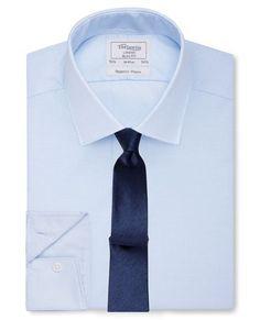 Light Blue Regency Weave Shirt