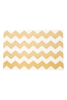 chevron paper placemats by cake vintage.