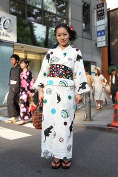 Tokyo Street Style Goes Traditional, With A Twist