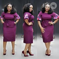 Corporate styles Dresses: Ckeck out 25 Corporate Fashion Styles For office work Latest African Fashion Dresses, Women's Fashion Dresses, Fashion Styles, Men Fashion, Classy Work Outfits, Classy Dress, African Attire, African Dress, Corporate Fashion