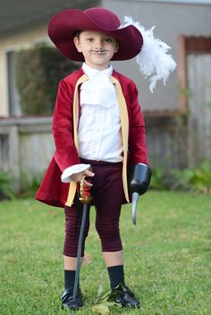 Tutorial de disfraz Capitán Garfio.