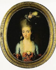 Queens of Denmark  Prince Frederik and Princess Sophie Frederikke in 1781.