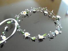 Haarschmuck & Kopfputz - Haarschmuck Hochzeit Kommunion - ein Designerstück von clarigoglitzerwelt bei DaWanda