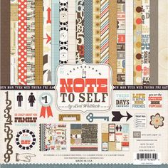 Echo Park - Note to Self 12x12 Collection Kit