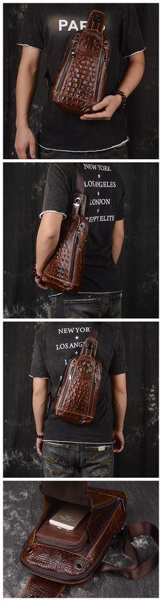 Handmade Vintage Genuine Leather Messenger Bag