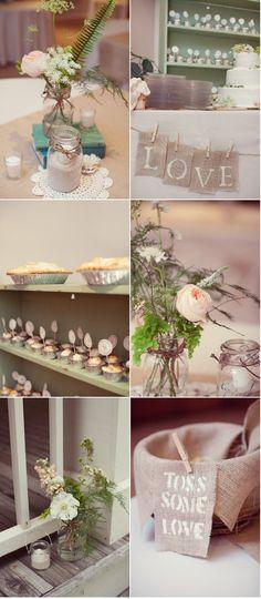 inspiration board :) #rustic #vintage #wedding