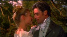 Gwyneth Paltrow (Emma Woodhouse) and Jeremy Northam (Mr. Knightley) - Emma directed by Douglas McGrath (1996) #janeausten