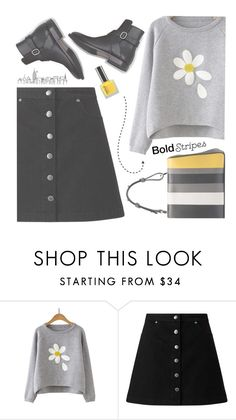 """""""Big, Bold Stripes"""" by kels-x ❤ liked on Polyvore featuring Miss Selfridge and BoldStripes"""