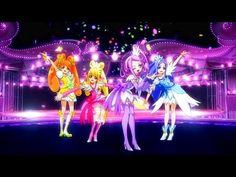 Glitter Force Doki Doki - Ending 1 Glitter Pumps, Glitter Force, Pretty Cure, Anime, Voici, Lava Lamp, Youtube, Kicks, Barbie