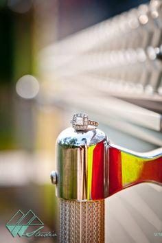 Leslie & Trey | Midway Engagement Photographer {Dorchester Shooting Preserve} Firefighter/ Fireman Engagement Pictures!