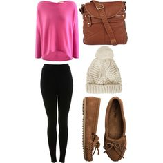 """pink fall"" by victoria-publicover on Polyvore"