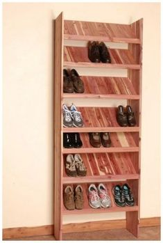 25+ shoes storage ideas you'll love 45