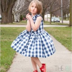 The Picknick Dress Sewing Pattern $9